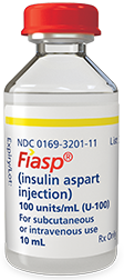 Fiasp® 10-mL insulin vial