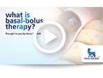 video:  explanation what is basal bolus therapy